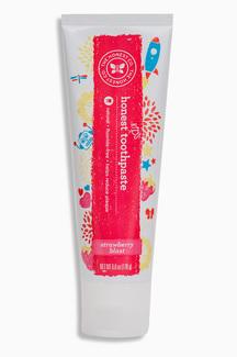 Honest KIDS toothpaste, натуральная зубная паста для детей, клубника. 170 грамм фото №1