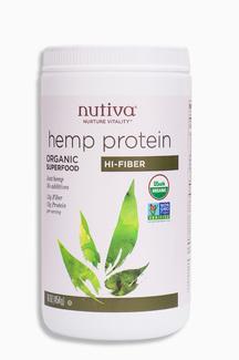 Hemp Protein, органический конопляный протеин с высоким содержанием клетчатки. 454 грамм фото №1