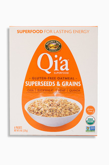 Gluten Free Oatmeal Superseeds and Grains, Органический безглютеновый сириал из овсянки и суперфудов. 228 грамм.  фото №1