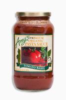 Premiun Organic Pasta Souce tomato basil, органический соус для пасты с базиликом. 695 грамм