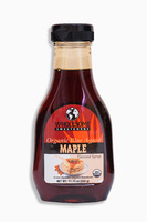 Organic Blue Agave maple flavored syrup, Органический сироп из голубой агавы с кленовым ароматом. 333 грамма