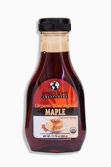 Organic Blue Agave maple flavored syrup, Органический сироп из голубой агавы с кленовым ароматом. 333 грамма фото №1