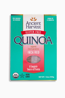 Quinoa Organic Inca Red, крупа киноа красная. Органик. 340 грамм фото №1