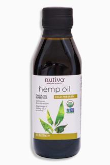 Organic Hemp Oil  Органическое конопляное масло. 236 мл фото №1