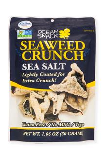 Seaweed crunch sea salt. Хрустящие морские водоросли нори с морской солью. 30 грамм фото №1
