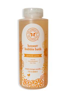 """Honest Bubble Bath, органическая пена для ванны """"Orange Vanilla"""" 355 мл фото №1"""
