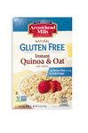 Instant, Quinoa & Oat, Овсяные и киноа хлопья быстрого приготовления, 227 грамм
