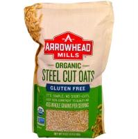 Gluten Free Steel Cut Oats, каша овсяная цельнозерновая, 680 грамм