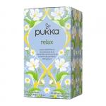 Relax, органический расслабляющий чай. 20 пакетиков