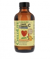 Жидкий витамин С с натуральным апельсиновым вкусом 118 мл