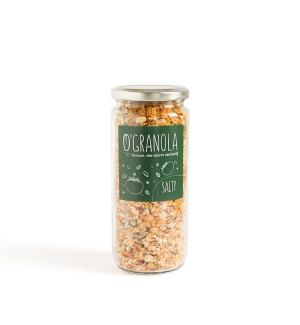 Гранола Salty соленая с кедровым орехом, кунжутом, семенами льна и тыквенными семечками 250г фото №1