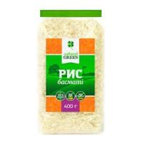 Рис басмати, 400 грамм, Natural green