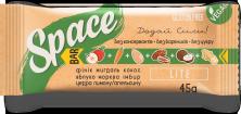 Space Bar Батончик без сахара Lite 45 грамм