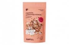 Натуральная гранола без сахара с шоколадом и кокосом 150 грамм