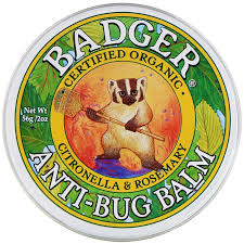 Органический бальзам от насекомых, Badger Company, 22 грамм фото №1