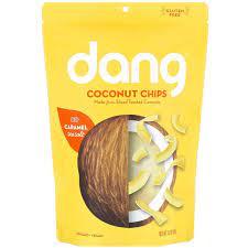 Toasted Cocout Chips, натуральные кокосовые чипсы с карамелью и морской солью, 90 грамм фото №1