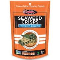 Хрустящие морские водоросли с тыквенными  семечками и кунжутом ( 35г)