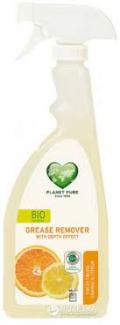 Органический спрей для удаления жира «Свежие фрукты: апельсин и цитрон» Planet Pure, 510 мл  фото №1