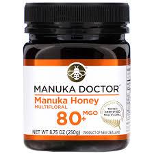 Bio Active Manuka Honey, Манука Мед Bio Active 80+. 250 грамм фото №1