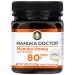 Bio Active Manuka Honey, Манука Мед Bio Active 80+. 250 грамм Manuka Doctor фото №1