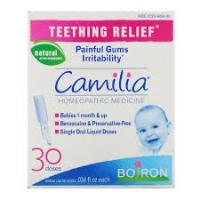 Органическое средство для облегчения боли при прорезывании зубов, Camilia, 30 жидких доз