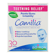 Органическое средство для облегчения боли при прорезывании зубов, Camilia, 30 жидких доз фото №1