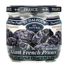 St. Dalfour, Giant French Prunes (Гигантский французский чернослив) без косточек, 200 грамм  фото №1