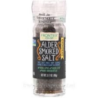 Гурманская соль в мельничке, копченая на ольхе, Frontier Natural Products, 90 грамм