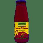 Органическое пюре томатов с базиликом 680 грамм фото №1