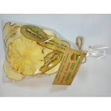 Эко чипсы яблоко+киви+ананас 50г фото №1