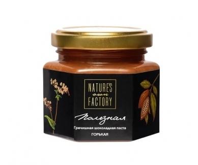 Гречишная шоколадная паста «Черная», Nature's Own Factory 120 грамм фото №1