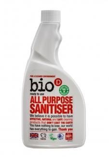 Bio-D Дезинфицирующее средство для всех поверхностей без распылителя 500 мл фото №1