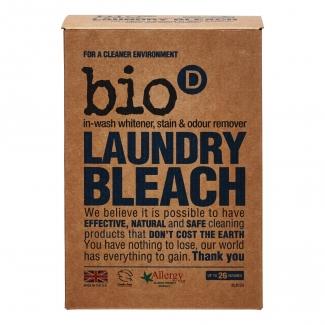 Laundry Bleach Bio - D дезинфицирующий кислородный отбеливатель, пятновыводитель 400 грамм фото №1
