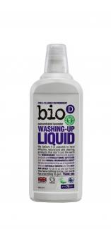 Washing Up Liquid Lavender Bio – D  концентрированная экологическая жидкость для мытья посуды с запахом лаванды 750 мл фото №1