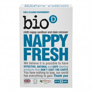 Nappy Fresh Bio - D Антибактериальный порошок для стирки детских вещей, 500 грамм фото №1