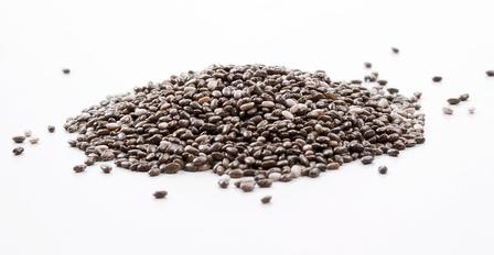 Organic Chia Seed Black Органические семена чиа черные. Суперфуд. 100грамм. фото №1