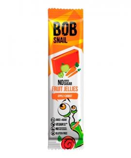 Натуральний мармелад без сахара яблоко-морковка 38 грм фото №1