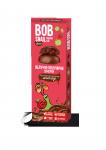 """Натуральные яблочно-клубничные конфеты без сахара с  молочным шоколадом """"Улитка Боб"""" 30 г"""