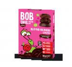 """Натуральные яблочно-малиновые конфеты без сахара с шоколадом """"Улитка Боб"""" 60 грамм"""