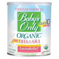 Organic DHA&ARA for lactose sensitivity LactoRelief, Безлактозная молочная смесь. 360 грамм.