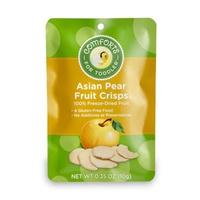 Asian Pear fuit crisps сублимированная грушка 10г