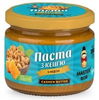 Натуральная паста из кешью с медом, 200 грамм
