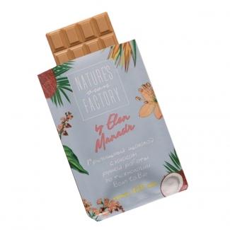 Гречишный шоколад с кокосом  фото №1