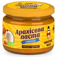 Натуральное арахисовое масло с кокосом 300г