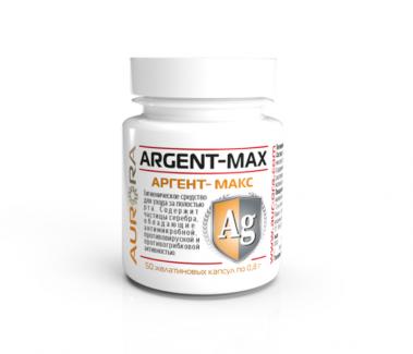 Аргент-Макс гигиеническое средство для ухода за полостью рта 50 капсул фото №1