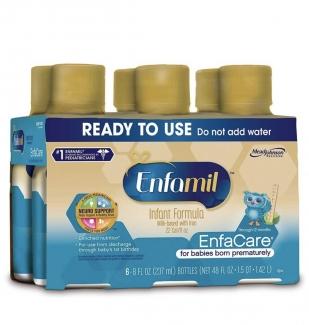 Infant Formula Milk-based with Iron,Натуральная молочная смесь 6 бутылочек по 237 мл фото №1