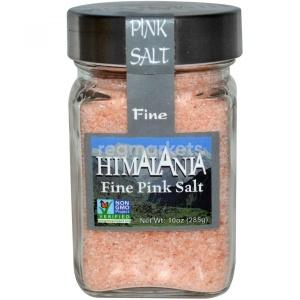 Himalania Fine Pink Salt, Гималайская розовая соль 285 грамм фото №1