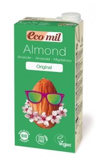 Органическое миндальное молоко с сиропом агавы, 1л фото №1