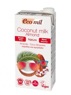 Ораническое миндально-кокосовое молоко без сахара 1л. фото №1