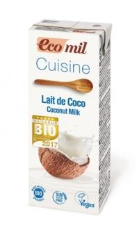 Органические кокосовые сливки, 200 мл фото №1